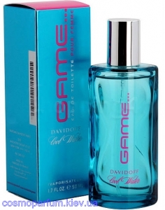Туалетная вода Davidoff - Cool Water Game pour homme (30мл.)
